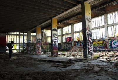 Urbex, the hunt for abandoned buildings