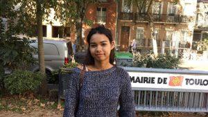 Anne-Laure 18 ans étudiante a répondu à des questions sur le harcèlement sexuel