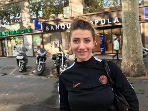 Zoë à répondu a des questions sur l'équipe de France en vue de la prochaine coupe du monde