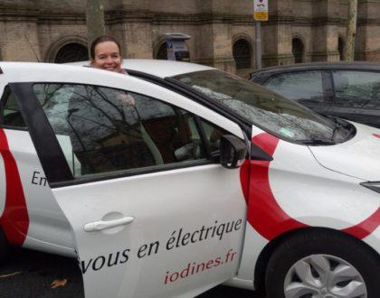 Iodines, l'autopartage vert et économique