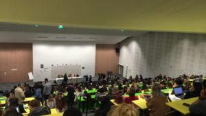 Environ mille personnes étaient réunies à l'assemblée générale de l'université Jean Jaurès, dont une vingtaine du DEFLE.