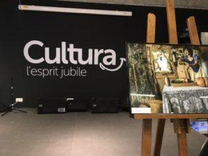 L'exposition le monde d'un geek de Chris Spaceblue au Cultura de Balma