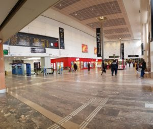 Mardi, il n'y avait pas foule à la Gare Matabiau. Les commerces le ressententPhoto Quentin Marais