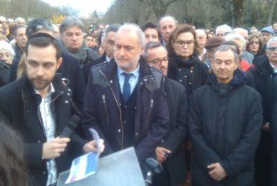 Mireille Knoll : près d'un millier de personnes réunies pour un hommage à Toulouse