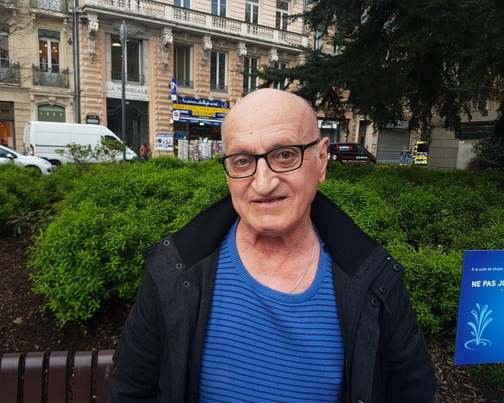 Patrick, 62 ans et retraité est un habitant de Toulouse. Il nous donne son avis concernant le renforcement sécuritaire devant les églises pendant la période de pâques.