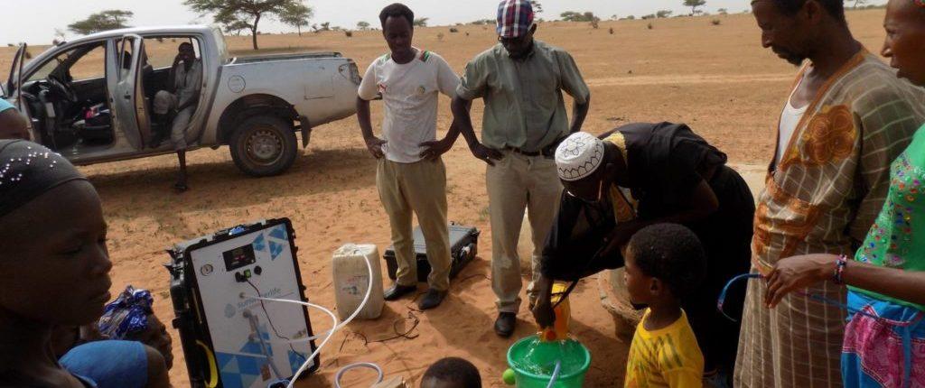 Aqualink : La valise qui rend l'eau potable
