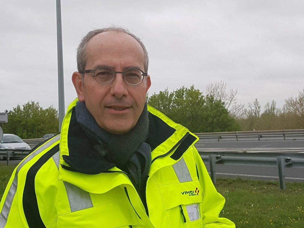 François Baratou, Directeur d'opération du réseau ASF, Vinci Autoroute