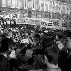 Des nuits d'émeutes étaient organisées en Mai 1968 à Toulouse ©André Cros-CC BY-SA 4.0