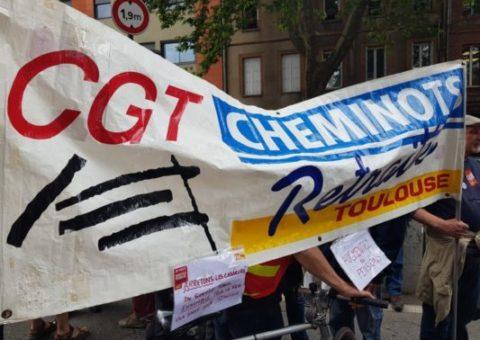Manifestation supplémentaire pour les cheminots