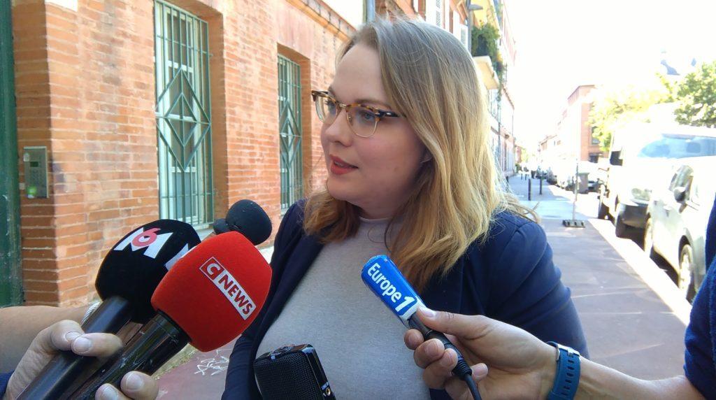 Marie Glinel, responsable de l'UNI 31.