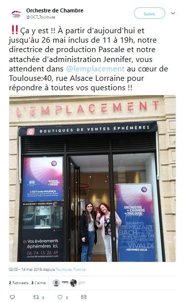 Orchestre de chambre de Toulouse à la conquête des mélomanes