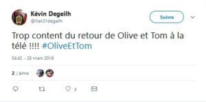 Trop content du retour de Olive et Tom à la télé !!!!