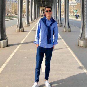 Valentin Pailliez, un jeune homme de 19 ans pas tout à fait comme les autres. ©ValentinPailliez