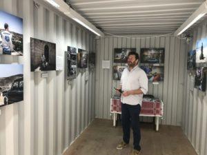 Le photojournaliste Olivier Papegnies, de retour de voyage en Cisjordanie, expose ses oeuvres lors du Festival ManifestÔ.