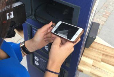 Toulouse : nouvelle borne pour recharger son téléphone