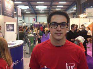 Romain, 20 ans, étudiant