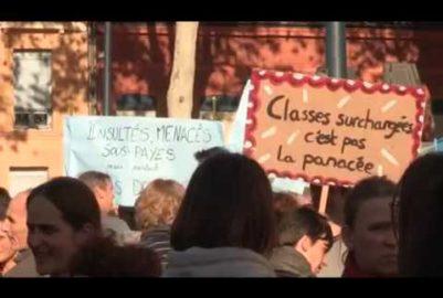 Le monde enseignant exprime son « ras-le-bol »