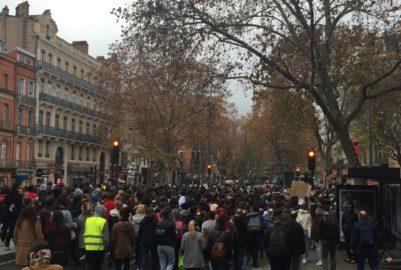 Toulouse, une ville ralentie par les mouvements contestataires