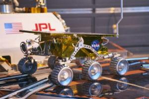 Robot miniature de la Nasa