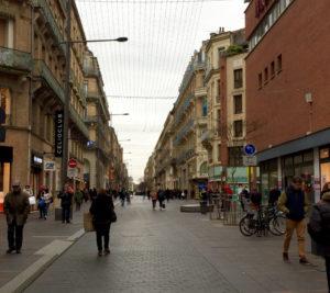 Les rues toulousaines sont vides à la veille des soldes