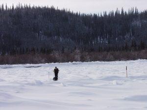 Participant à la Yukon Arctic Ultra