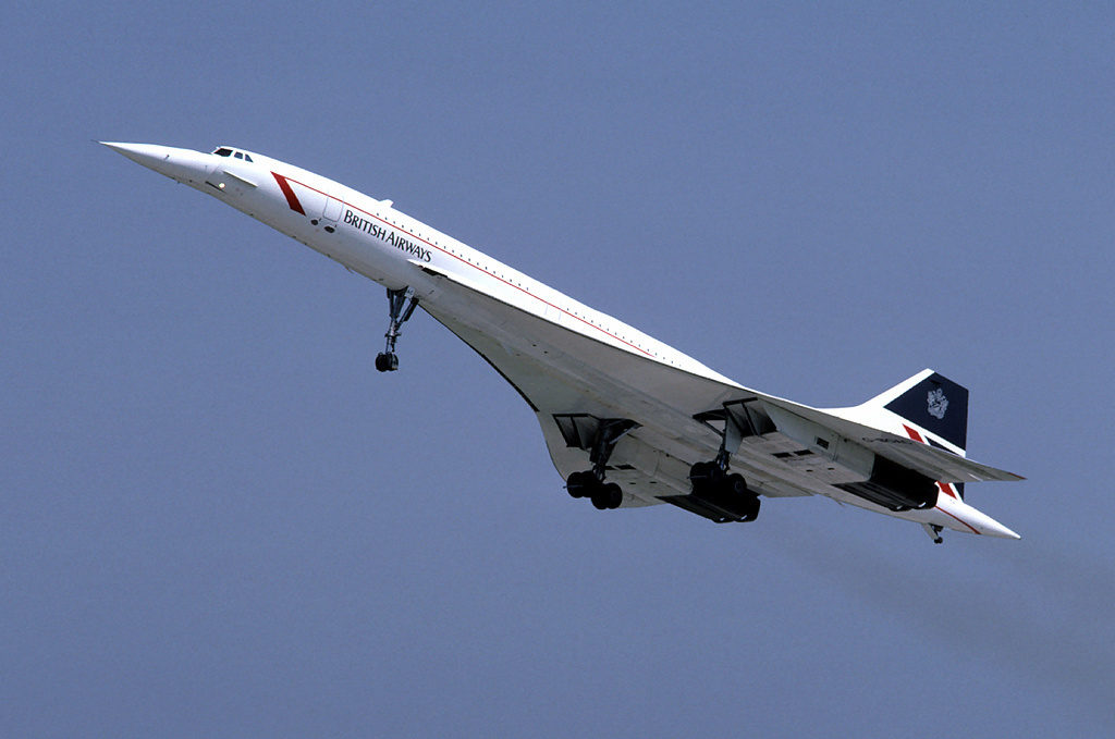 Le Concorde de British Airways. Crédit : Eduard Marmet / CC BY-SA 3.0