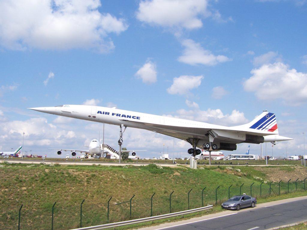 Le Concorde d'Air France exposé à l'aéroport Paris-Charles-de-Gaulle. Crédit: Henrysalome / CC BY-SA 3.0