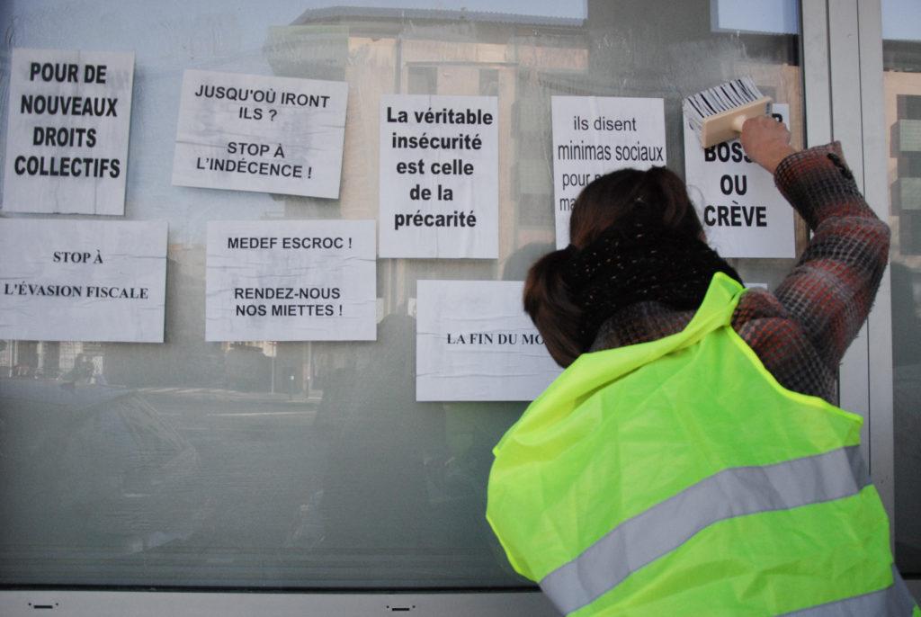 collectif chômeurs précaires pole emploi