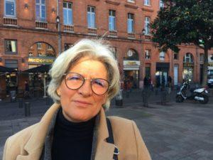 Dominique, responsable de magasin, plastique usage unique. Crédit Jade Babaudou