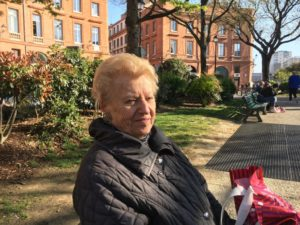 Paulette, 85 ans, retraitée