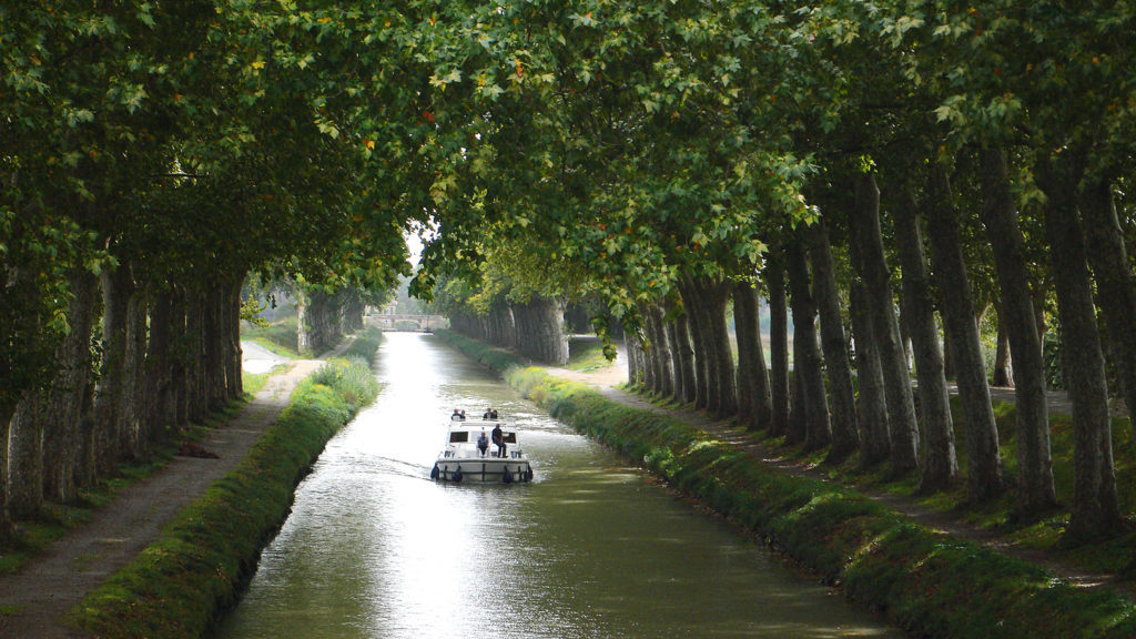 Le canal du Midi, Crédit : Peter Gugerell / CC BY-SA 3.0