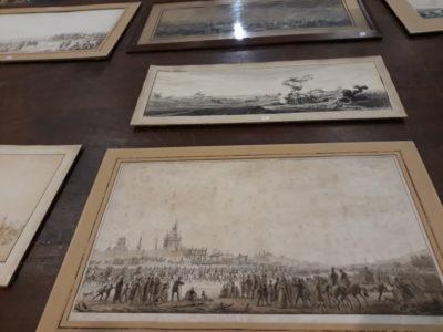 Ces dessins, de Benjamin Zix, sont partis pour plusieurs milliers d'euros.