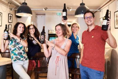 Consign'up : une «seconde» vie pour les bouteilles en verre