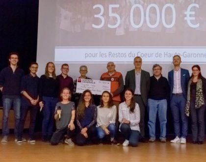 Les Enfoiros récoltent 35 000 euros pour les Restos du coeur