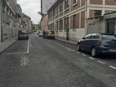 Rue du Maroc; Projet Teso