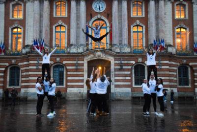 Les cheerleaders toulousains en recherche de fonds