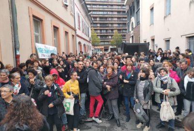 Culture du viol: manifestation au collège Lamartine