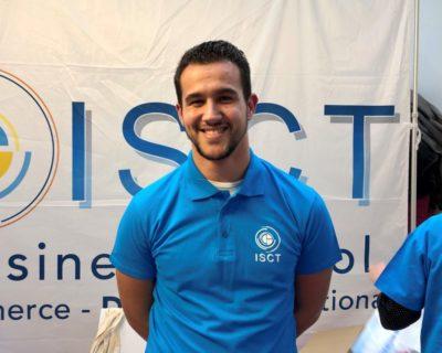 Jeremy, 22 ans, étudiant à l'ISCT