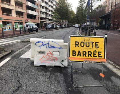 Toulouse : l'avenue de Lombez  inondée