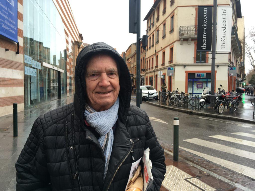 Claude, 80 ans, retraité