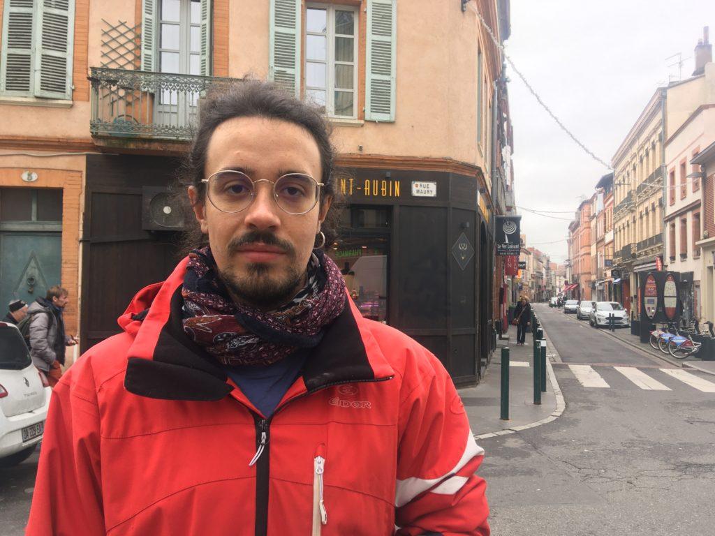 Baptiste, 27 ans, sans emploi donne son avis
