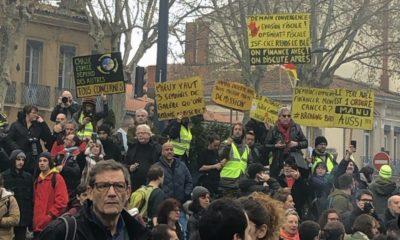 Les manifestations contre la réforme des retraites se poursuivent à Toulouse alors que la dernière en date du 17 décembre 2019 avait réunis 17 000 personnes selon la préfecture.