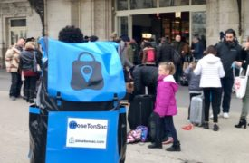 Pose ton sac : les bagages à consigne fêtent leur un an