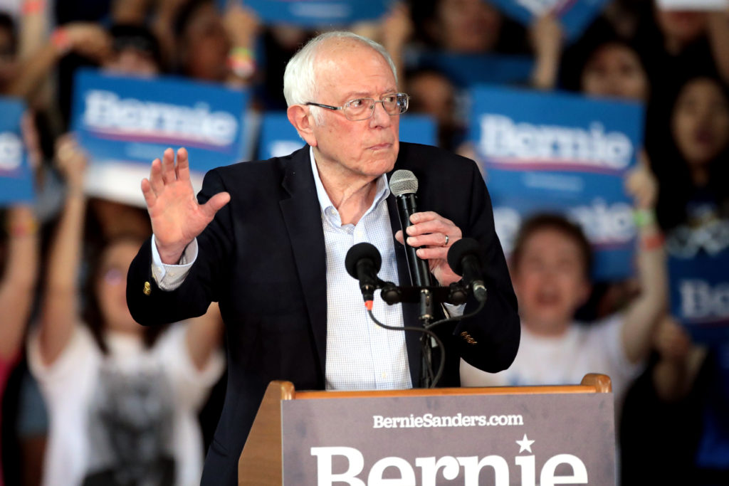 Bernie Sanders came out of Super Tuesday losing to Joe Biden.