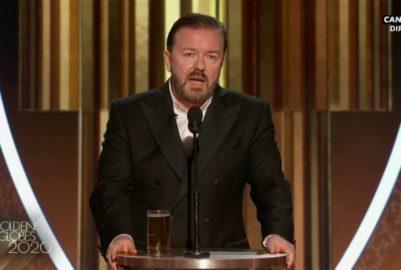 Golden Globes: Gervais et L'ombre de Weinstein