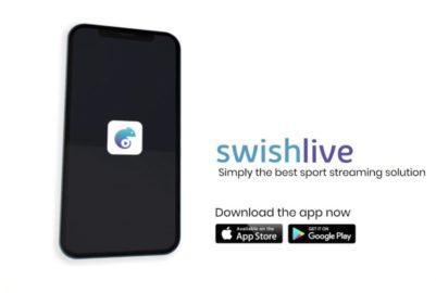Retransmission sportives: l'application Swish Live débarque sur android