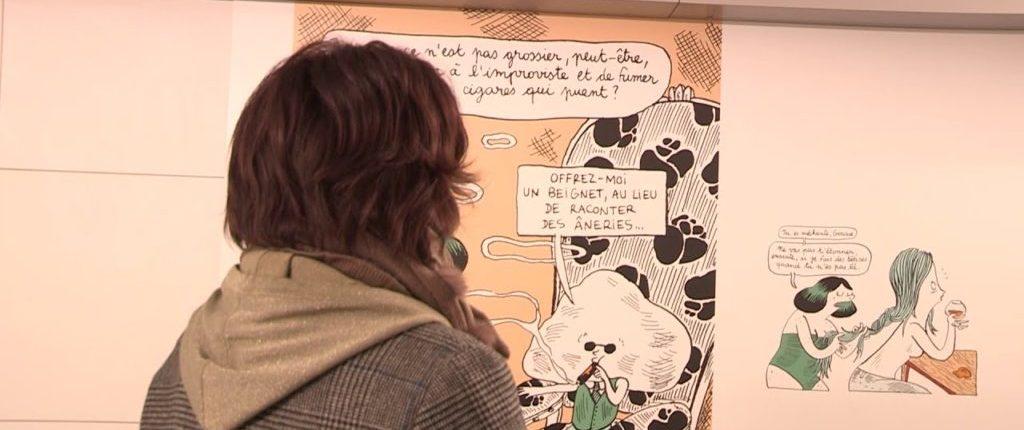 Quand le festival de BD d'Angoulême s'expose à Toulouse.
