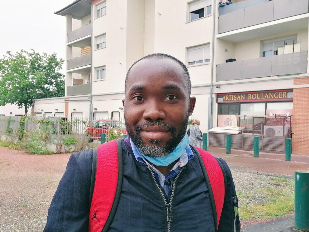 Photo MDL Péresse, 35 ans, ingénieur, pense que la violence s'accentue ces derniers temps