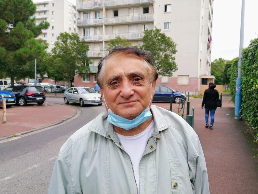 Photo MDL Richard, 62 ans, retraité, veut moins de délinquance dans son quartier
